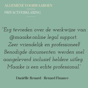 Recensie Renard Finance